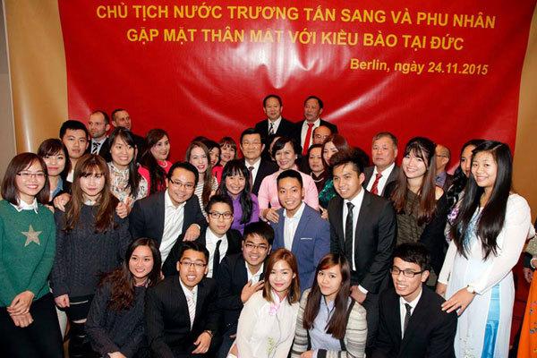 Chủ tịch nước Trương Tấn Sang