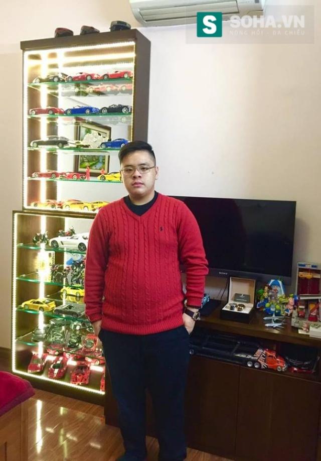 Thiếu gia Hà Nội 17 tuổi sở hữu loạt xế khủng