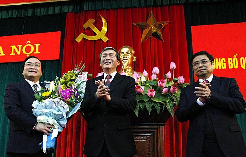 Hoàng Trung Hải, bí thư hà nội, bộ chính trị, đinh thế huynh, phạm minh chính, phạm quang nghị, thường trực ban bí thư, trưởng ban tổ chức TƯ