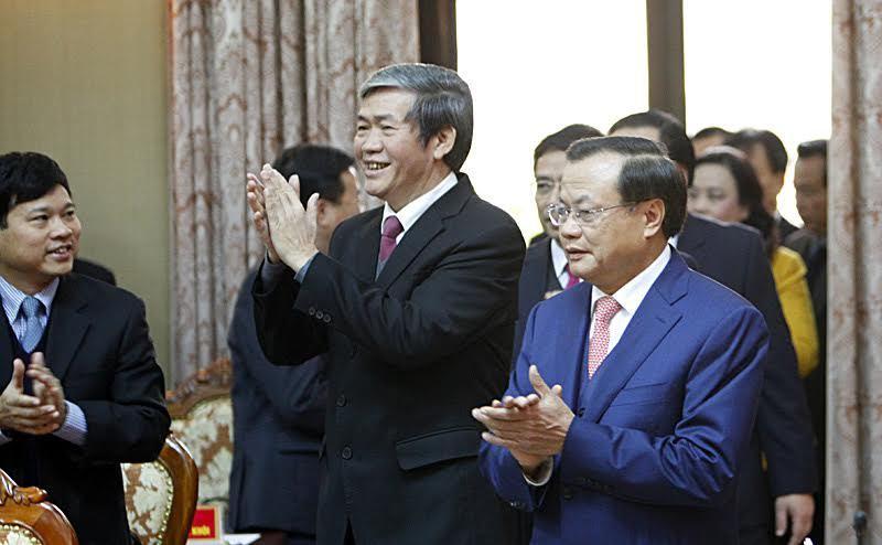 Phạm Quang Nghị, Bí thư Thành ủy Hà Nội Hoàng Trung Hải, Bộ Chính trị khóa 12