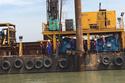 Tết tình nguyện của công nhân xây cầu CIENCO4