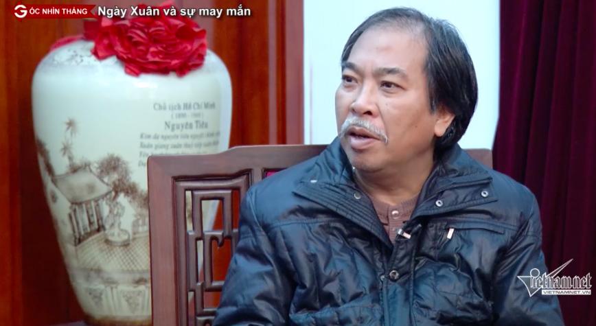 ngày xuân, may mắn, lễ chùa, hái lộc, Nguyễn Quang Thiều, xin chữ