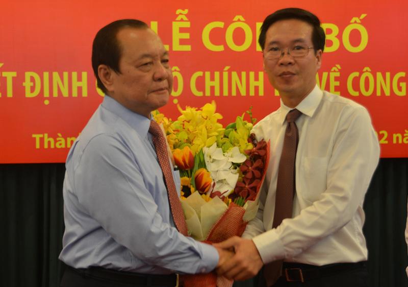 Lê Thanh Hải, Đinh La Thăng, Võ Văn Thưởng, Bí thư TP.HCM
