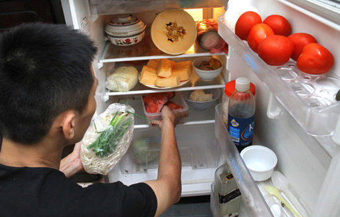 tích trữ thực phẩm, tủ lạnh