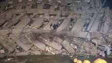 Động đất lớn ở Đài Loan, nhiều cao ốc đổ sập
