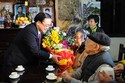 Bí thư Hà Nội Hoàng Trung Hải chúc Tết gia đình chính sách
