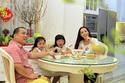 Bữa tất niên trong nhà mới hoành tráng của Thuý Hạnh