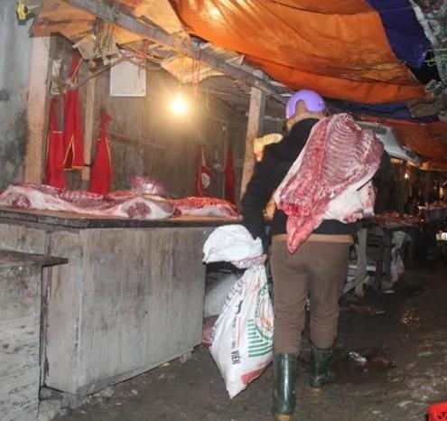 phiên chợ đặc biệt, Hà Tĩnh