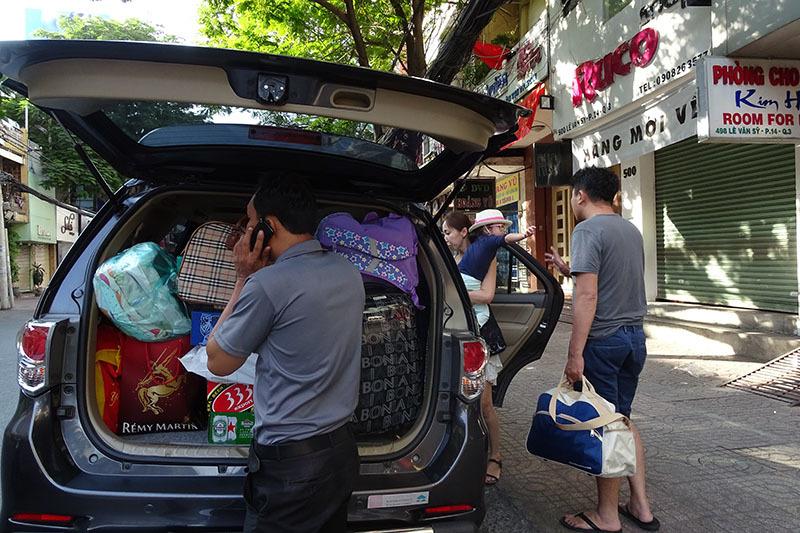 Hình ảnh chiều cuối năm ở Sài Gòn