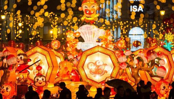 thế giới, châu Á, năm mới, BínhThân, Tết nguyên đán, Tết, đón Tết