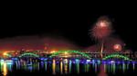 Pháo hoa bừng sáng đón năm mới Bính Thân