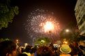 Pháo hoa rực sáng đón năm mới Bính Thân