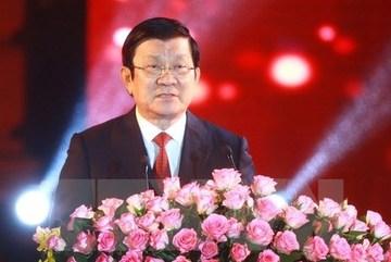 Chủ tịch nước chúc Tết Bính Thân 2016