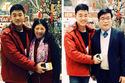 Xuân Trường chúc Tết bố mẹ từ Hàn Quốc