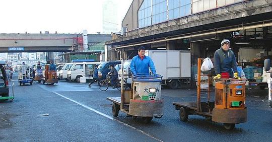 cá ngừ, thủ đô Tokyo, trứng cá muối, đấu giá cá ngừ, cá ngừ vây xanh, Nhật Bản, chợ cá