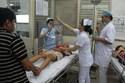 Nghẹt thở những giây cứu người trong đêm giao thừa bệnh viện