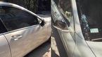 Nhiều xe sang bị vặt gương, trộm đồ ngày tết