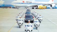 Bí mật đội cảnh sát Việt lái mô tô siêu khủng bảo vệ yếu nhân