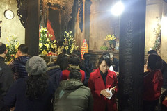 Chen chúc lễ chùa Phủ Tây Hồ, đình Phúc Khánh