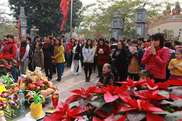 Khai bút, giáo dục đào tạo, Hà Nội, Chu Văn An, Thanh Liệt, Thanh Trì