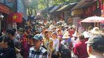 Phân luồng từ 2h đêm để đỡ tắc đường về chùa Hương