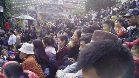 Chùa Hương, khai hội Chùa Hương, Tết Nguyên đán