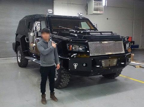 Knight XV, siêu xe