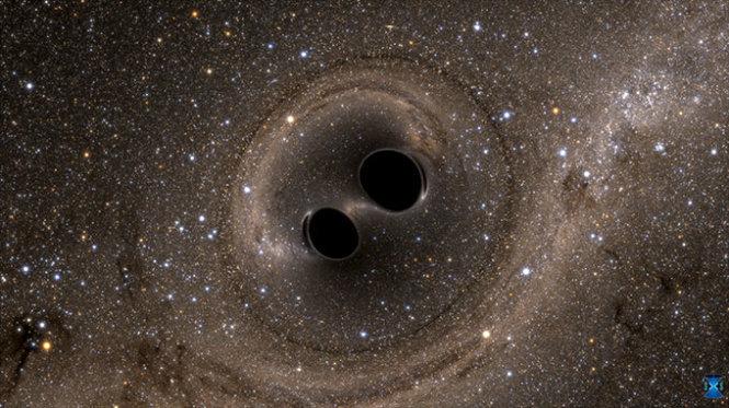 sóng hấp dẫn, phát hiện, Einstein, thuyết tương đối rộng, tương đối hẹp, vật lý, vũ trụ, không thời gian