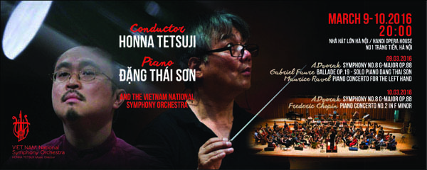 Hòa nhạc đặc biệt của nghệ sĩ Đặng Thái Sơn