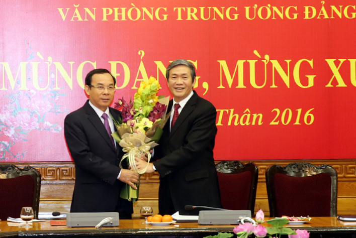 Công bố ông Nguyễn Văn Nên làm Chánh Văn phòng TƯ Đảng