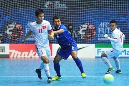 Highlights: Việt Nam 1-3 Thái Lan (VCK Futsal châu Á 2016)