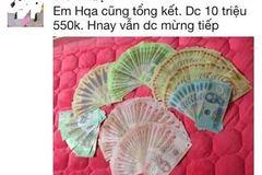 """Khoe 20 triệu lì xì, mẹ Việt được trầm trồ:"""" Lãi thế"""""""