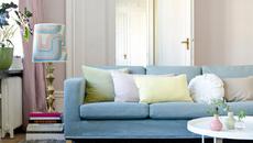 Hồng thạch anh và xanh dương - gam màu trang trí nội thất của năm 2016