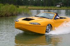 10 mẫu xe hơi có khả năng bơi lội
