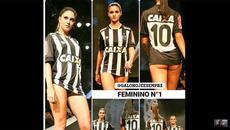 CLB Brazil chơi trội thuê siêu mẫu ra mắt áo mới
