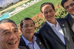 Dân mạng sôi sục ảnh Thủ tướng selfie ở Sunnylands