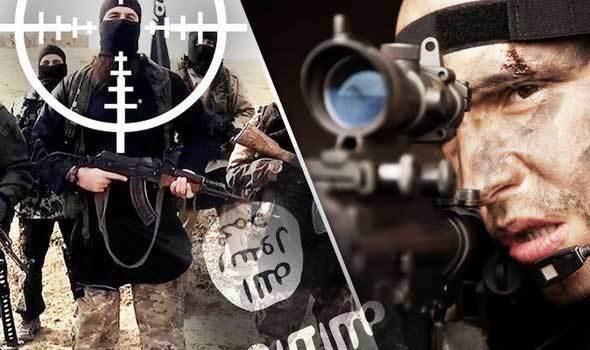 Đặc nhiệm, Anh, bắn, tung đầu, chỉ huy, IS