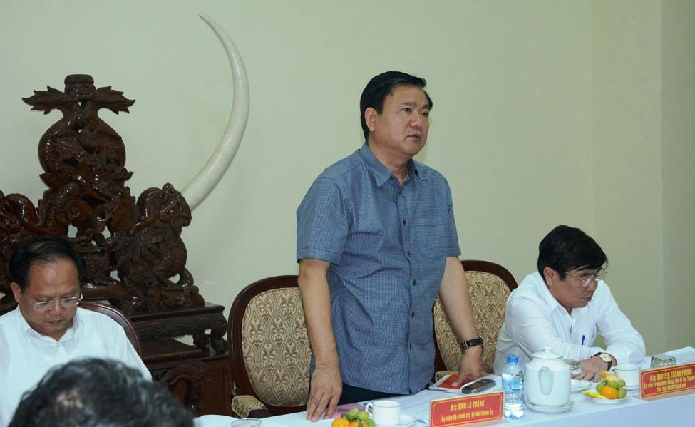 Đinh La Thăng, Bí thư Thành ủy TP.HCM Đinh La Thăng, công an TP.HCM