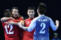Giây phút vỡ òa của tuyển futsal Việt Nam