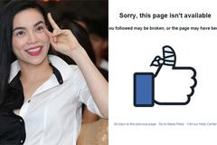 """Facebook Hà Hồ đóng đột ngột giữa scandal """"giật chồng"""""""