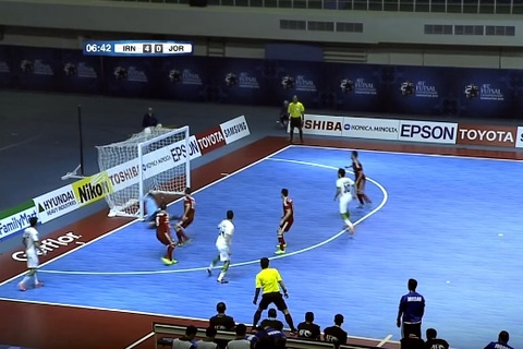 Iran 6-0 Jordan