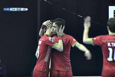 Iran 7-0Trung Quốc