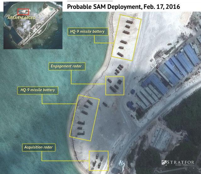TQ quân sự hóa đảo Phú Lâm rõ mồn một