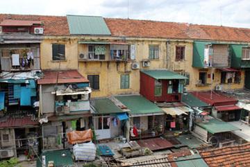 Bế tắc trong cải tạo chung cư cũ tại các đô thị