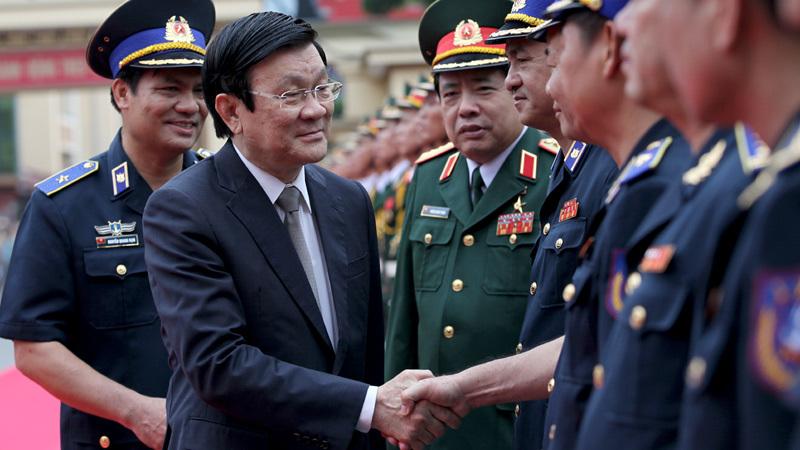 Chủ tịch nước Trương Tấn Sang,thăng quân hàm,Thủ tướng