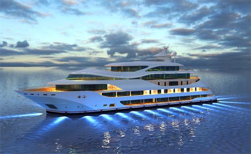 du thuyền, đại gia, nhà giàu, thị trường, thú chơi nhà giàu, du thuyền xa xỉ, Đào Hồng Tuyển, Tăng Thanh Hà, chơi du thuyền