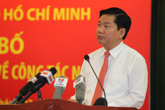 Đinh La Thăng, Bí thư TP HCM, đường dây nóng