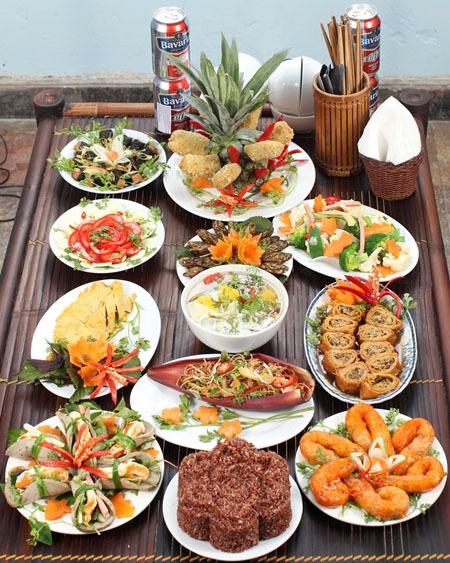 cỗ chay, cỗ chay hảo hạng, mâm cỗ chay, các món ăn chay ngày Rằm