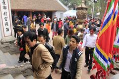Đền Trần phát ấn sớm, hơn 2.000 cảnh sát bảo vệ