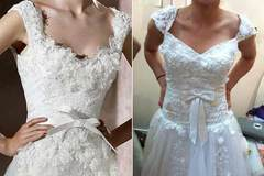 Sự thật phũ phàng khi mua váy cưới trên mạng